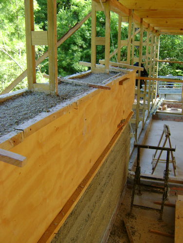 Drying around the timber frame