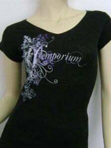 Hemp-Ladies-Printed-T-shirt