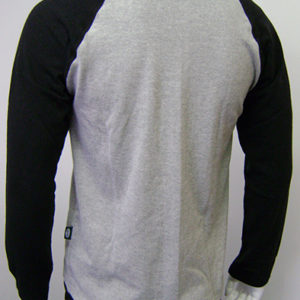 Raglan contrast mens back