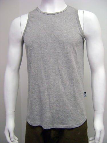 Vest mens grey large