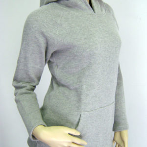 Ladies hooded sweatshirt large