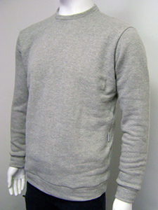 Mens fleece sweatshirt large