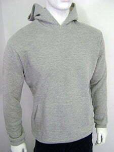 Mens hooded sweatshirt large