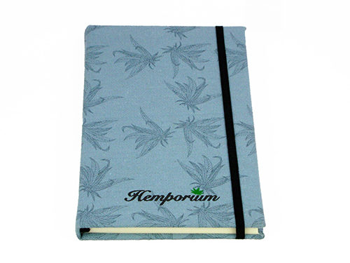 Hemp Journal Printed leaf